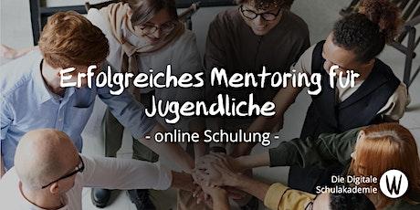 Erfolgreiches Mentoring für Jugendprojekte Tickets