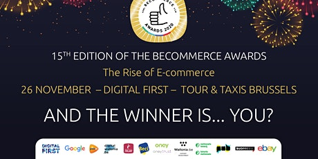 The BeCommerce Awards 2020 15th Edition The Rise of E-commerce tickets