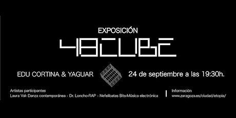 Actuaciones en 48CUBE, Laura Val, Dr. Loncho y Nefelibatas Bits entradas