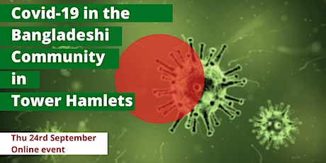 Covid-19  in the Bangladeshi community in Tower Hamlets tickets