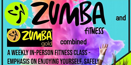 Mixed Level Zumba - Covid-Safe at Sturfit Sports  6.15pm tickets