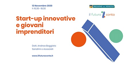 Start-up innovative e giovani imprenditori biglietti