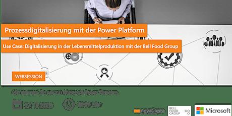 Prozessdigitalisierung in der Lebensmittelproduktion mit der Power Platform Tickets