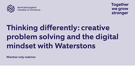 Thinking differently: creative problem solving and the digital mindset tickets