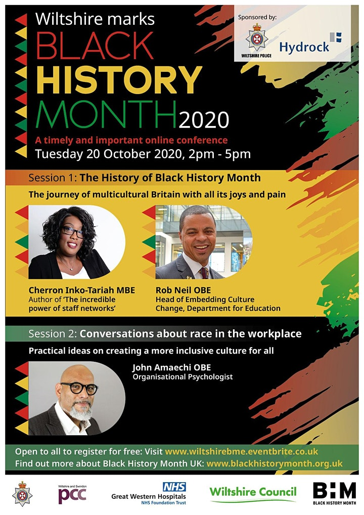 Wiltshire Marks Black History Month 2020 image