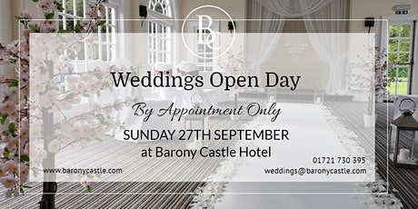 Wedding Open Day - By Appointment Only tickets
