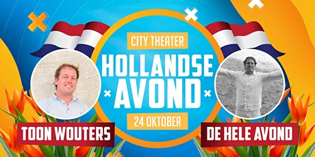 Hollandse Avond met Toon Wouters #2! tickets