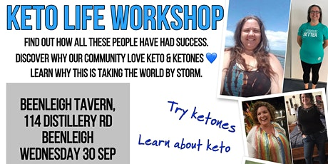 Keto Workshop - no more diets ever tickets