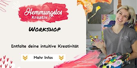 Workshop: Hemmungslos Kreativ Tickets