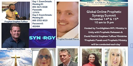 Online Prophetic Synergy Summit tickets