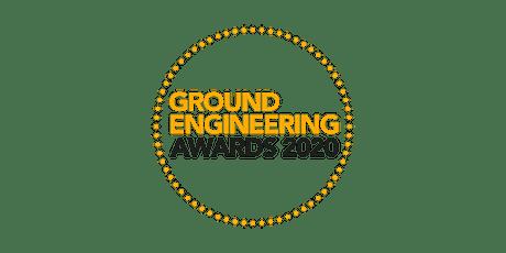 Ground Engineering Awards 2020 tickets