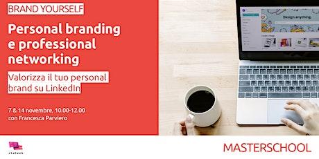 Personal Branding su LinkedIn biglietti