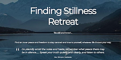 Finding Stillness tickets