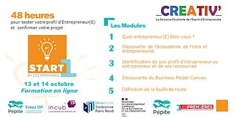 START-1ÈRE® 93 - Deux jours pour confirmer vos ambitions d'entrepreneurE ! billets