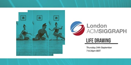 Online Life Drawing - September tickets