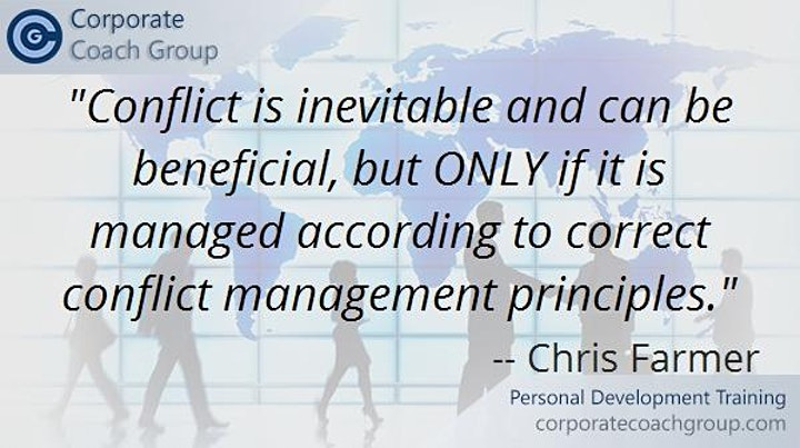 Conflict Management Training (1 day course Manchester Salford) image