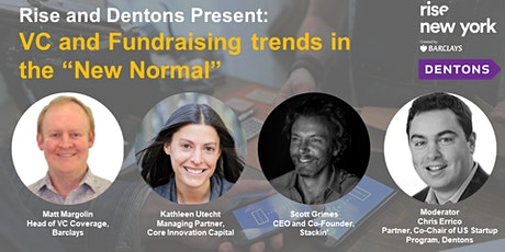 VC and Fundraising Trends in the 'New Normal' tickets