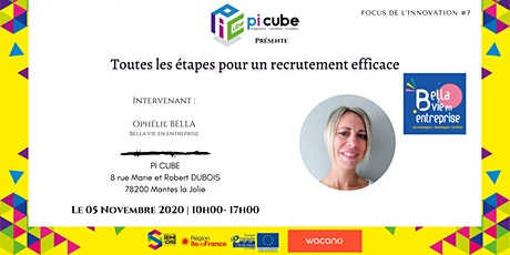 Focus de l'innovation #7 : Le processus de recrutement billets