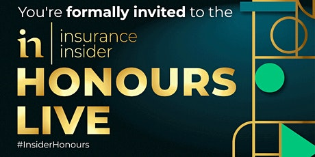 Insurance Insider Honours 2021 Nominations Waitlist tickets
