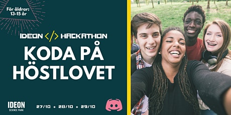 Ideon Hackathon - Prova på att koda under höstlovet! tickets