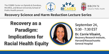 Recovery as a Paradigm: Implications for Racial Health Equity tickets