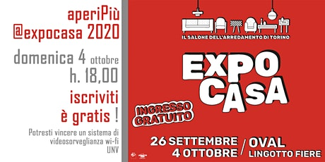 aperiPiù @Expocasa 2020 biglietti
