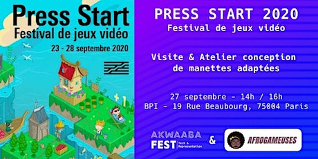 Rencontre Gaming Afrogameuses x Akwaaba Fest billets