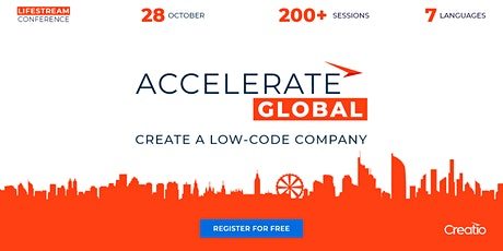 Online Virtual Conference ACCELERATE Global | October 28'2020 boletos