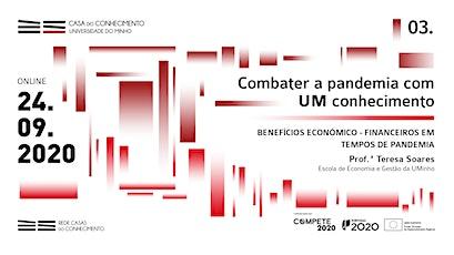 COMBATER A PANDEMIA COM UM CONHECIMENTO bilhetes