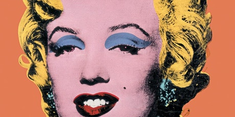 Paint Warhol's Marilyn Monroe - ZOOM class tickets