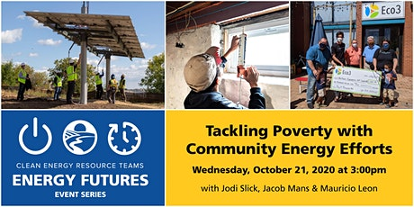 Energy Futures: Tackling Poverty with Community Energy Efforts tickets
