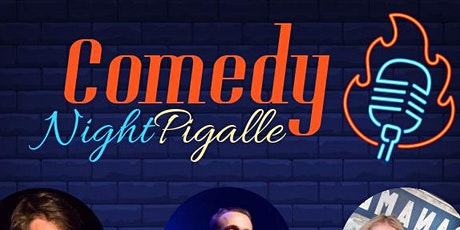 Comedy Night Pigalle # 17 billets