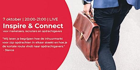 Inspire & Connect LIVE | 7 oktober| Wegwijs in de inhuurmarkt voor zzp'ers tickets