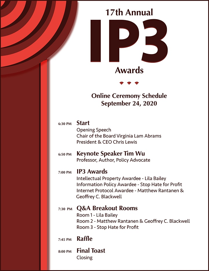 17th Annual IP3 Awards image