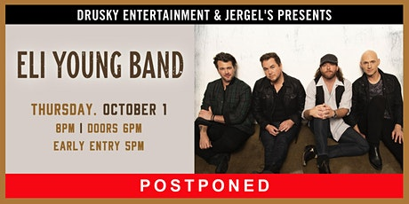 POSTPONED - Eli Young Band tickets