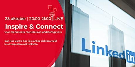 Inspire & Connect LIVE | 28 oktober | LinkedIn training tickets