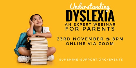Understanding Dyslexia - for parents tickets
