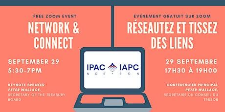 IPAC-NCR September 5 à 7 / IAPC-RCN 5 à 7 de septembre billets