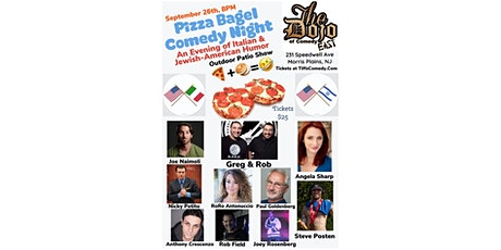 Pizza Bagel Comedy show tickets