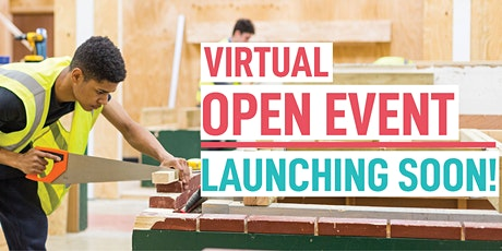 Aldershot College November Virtual Open Event (for Construction Courses) tickets