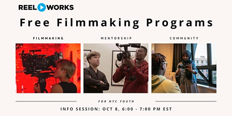 Reel Works After School Information Session #2 tickets
