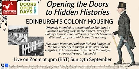Opening the Doors to Hidden Histories - Digital Doors Open Days 2020 tickets