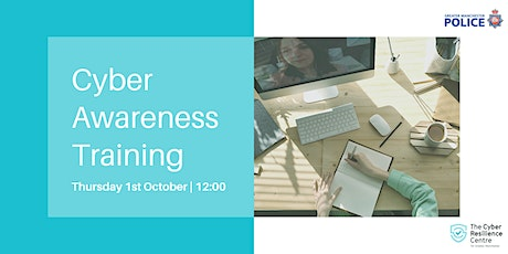 Cyber Awareness Training tickets