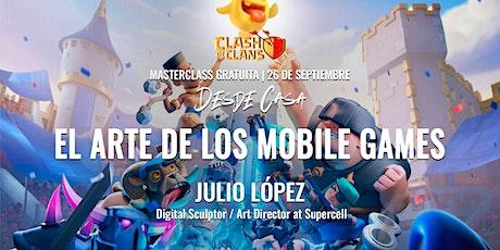 """Masterclass """"El Arte de los Mobile Games"""" – Julio Alberto López entradas"""
