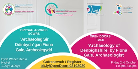 Open Doors Talk 'Archaeology of Denbighshire' by Fiona Gale, Archaeologist tickets