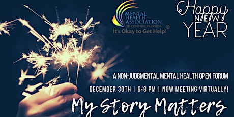 Online My Story Matters- New Year's Edition! tickets