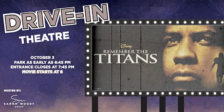 Drive-In Movie Event: Remember the Titans tickets