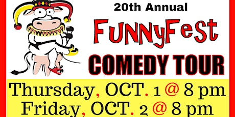 Oct. 1 and 2 - 20th Annual FunnyFest Comedy Tour @ Canmore tickets