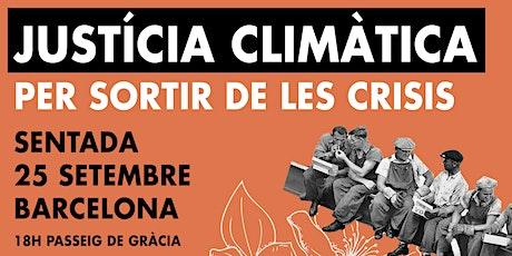 ACCIÓ GLOBAL PEL CLIMA - 25 SETEMBRE - BARCELONA entradas