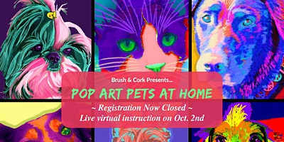 POP ART PET AT HOME! ~ Submit photo by Sept. 16 ~